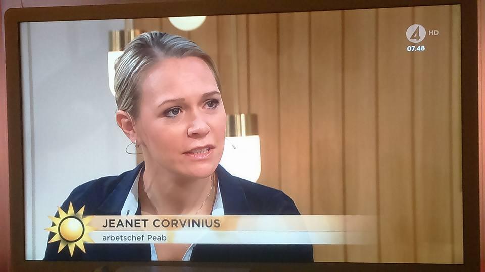 Jeanet i TV 4